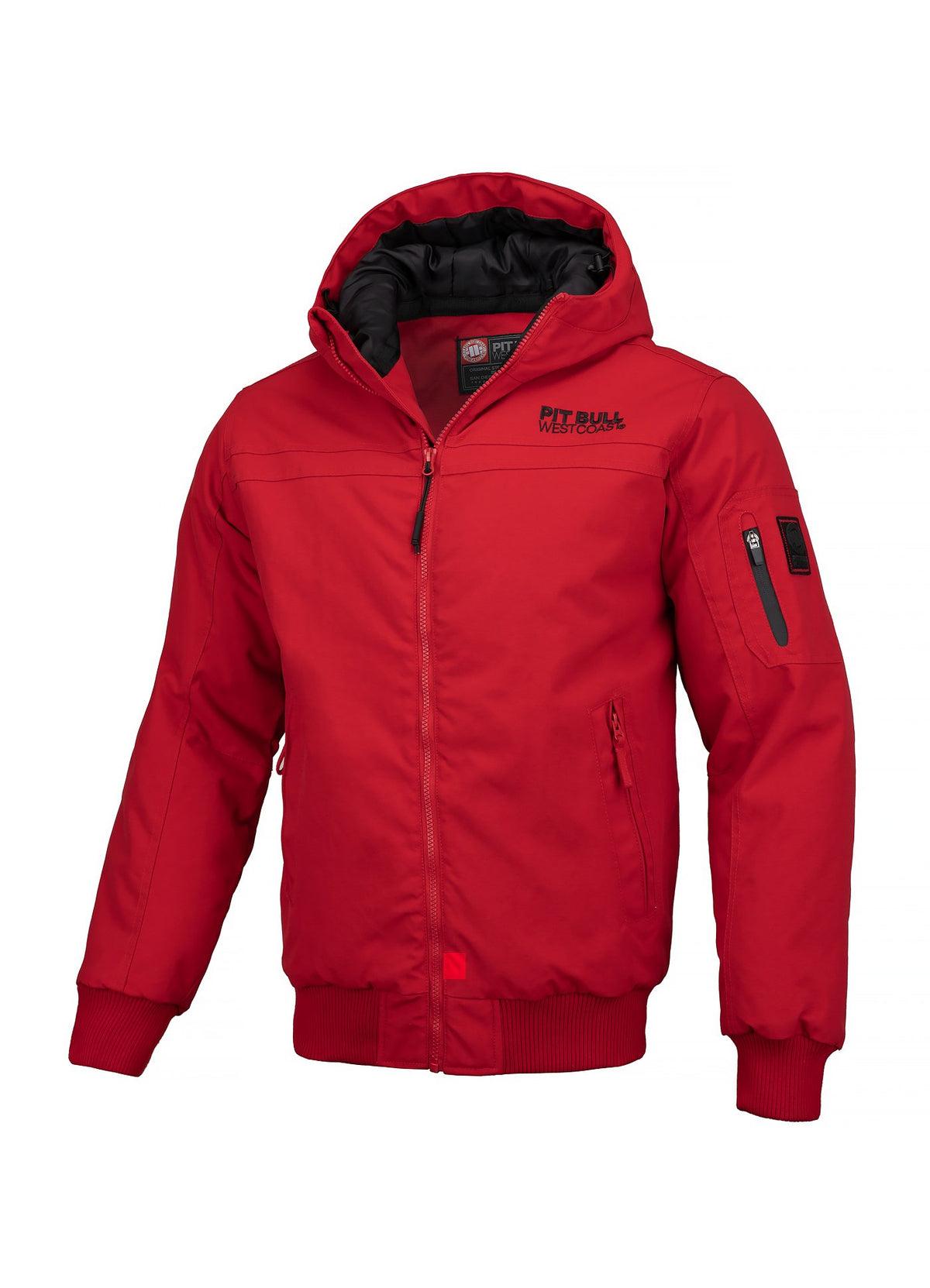 JACKET BALBOA II RED - Pitbull West Coast U.S.A.