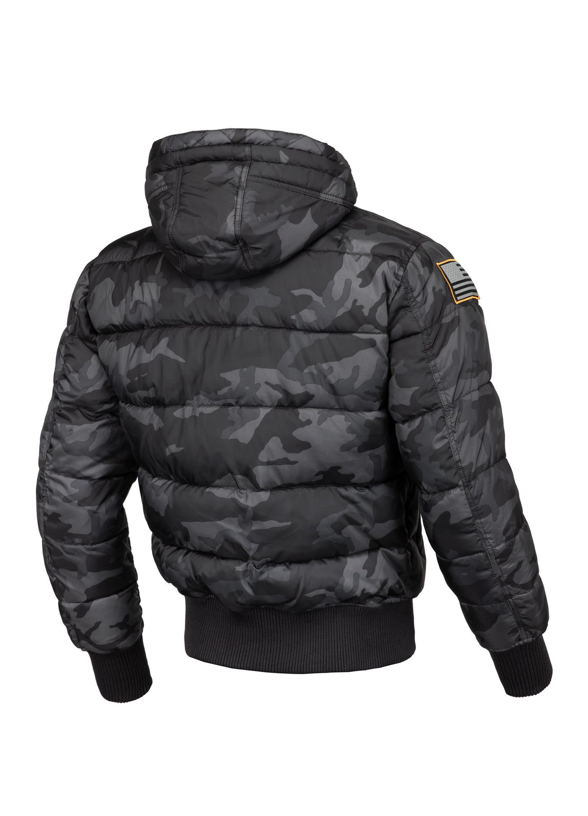 Jacket TOPSIDE All Black Camo - Pitbull West Coast U.S.A.
