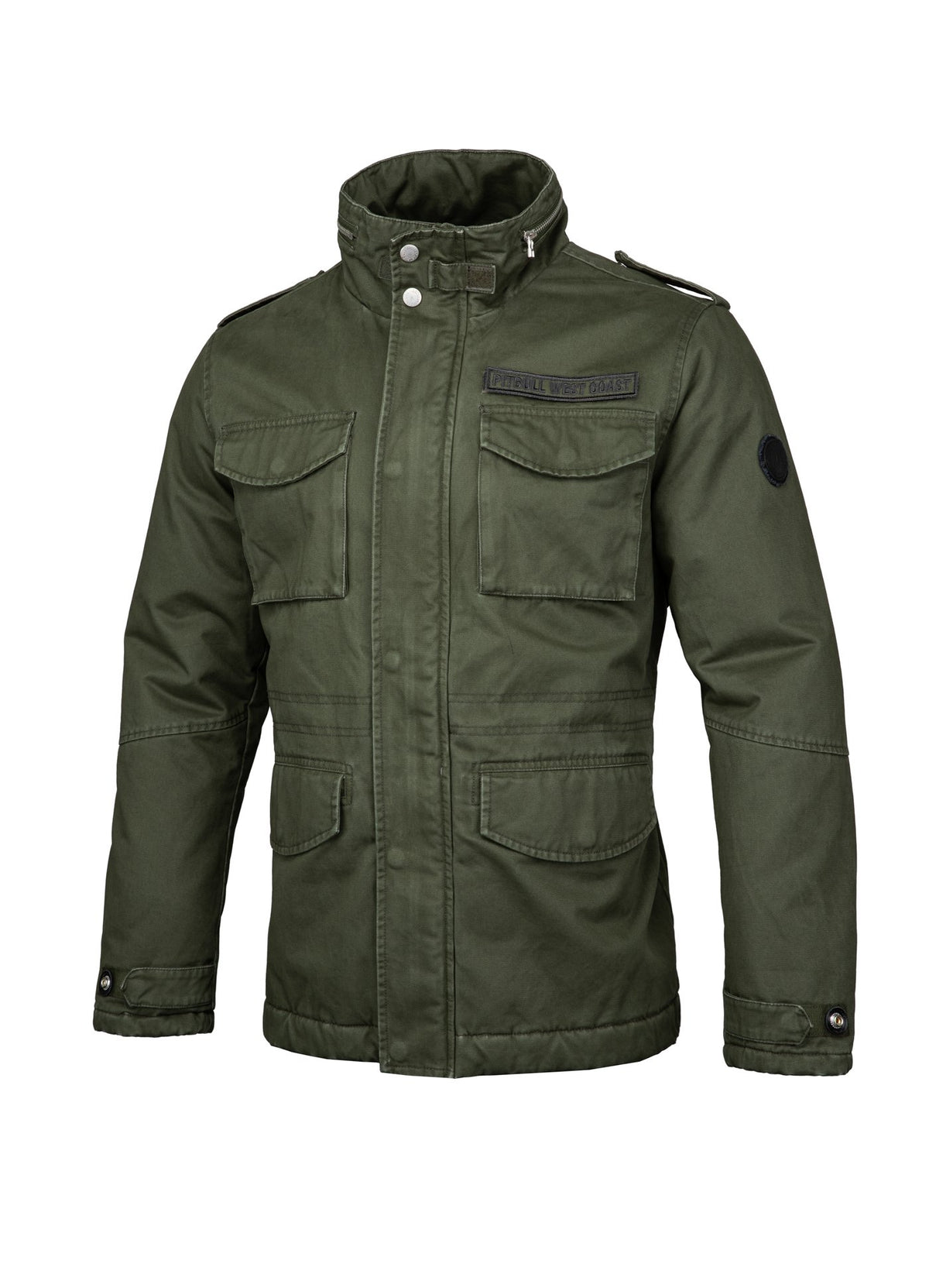 WINTER JACKET MONTEREY OLIVE - Pitbull West Coast U.S.A.