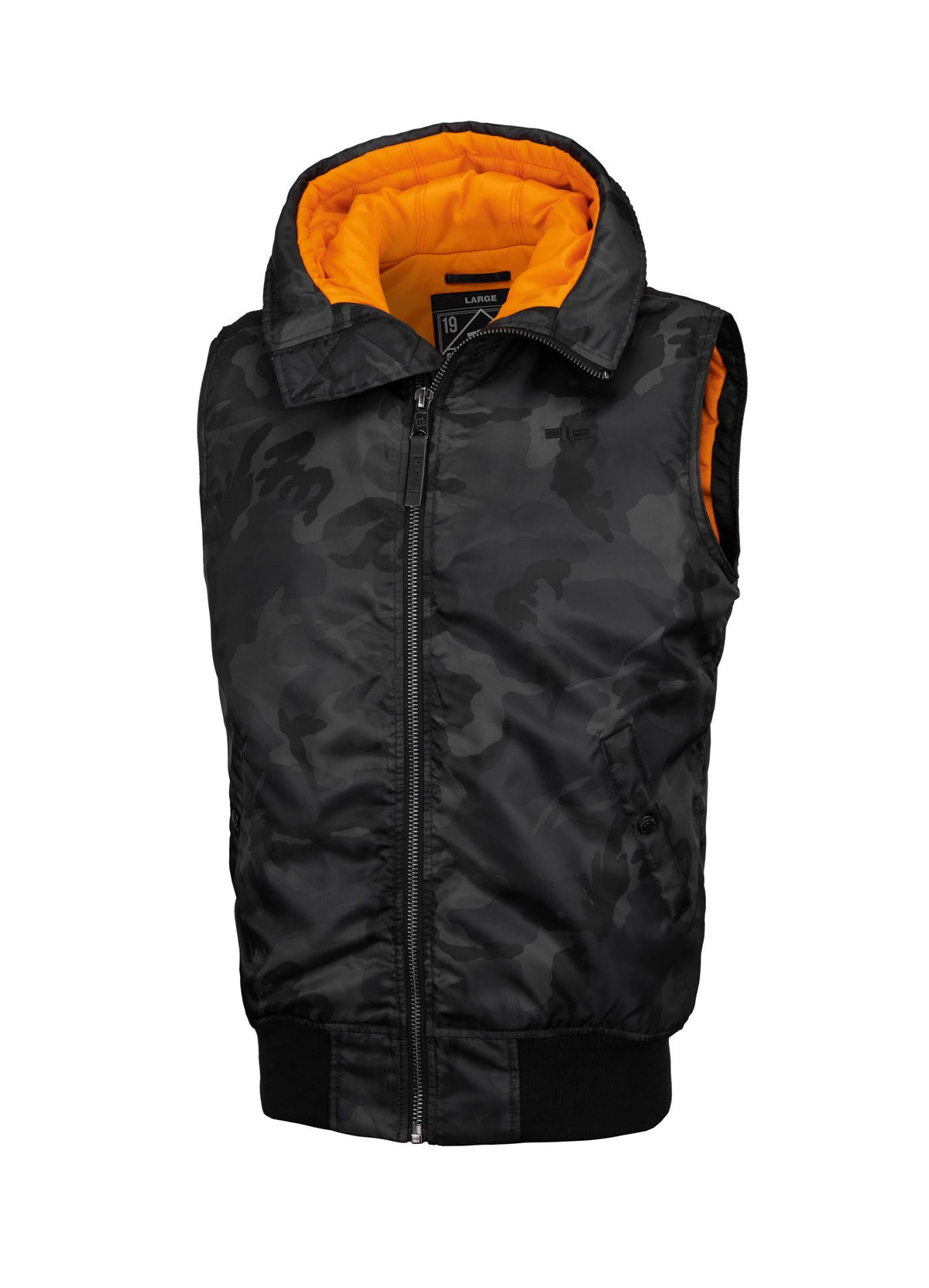 VEST ENCINO ALL BLACK CAMO - Pitbull West Coast U.S.A.