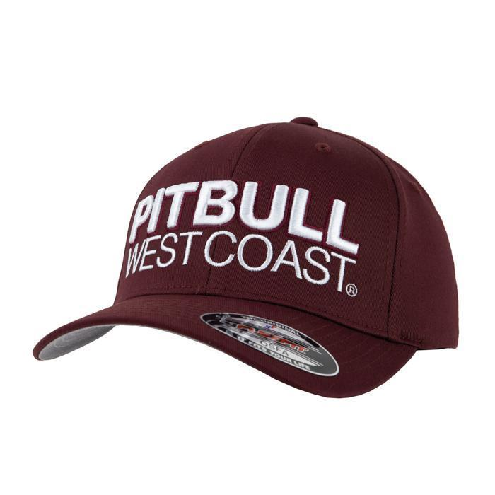 FULL CAP CLASSIC TNT Burgundy - Pitbull West Coast U.S.A.