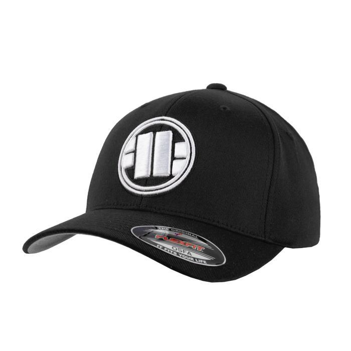 FULL CAP CLASSIC LOGO Black - Pitbull West Coast U.S.A.