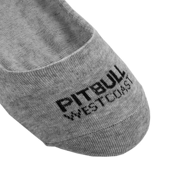Thin No Show TNT Socks 3pack Grey - Pitbull West Coast U.S.A.