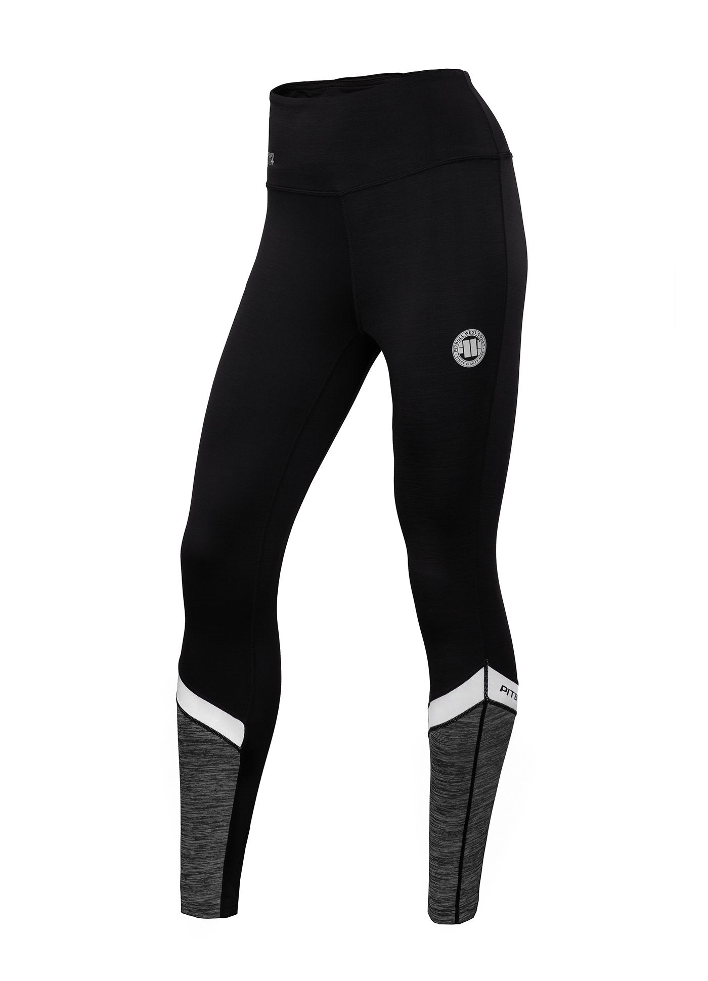 Women's Leggins Compression PRO PLUS MLG Black - Pitbull West Coast U.S.A.