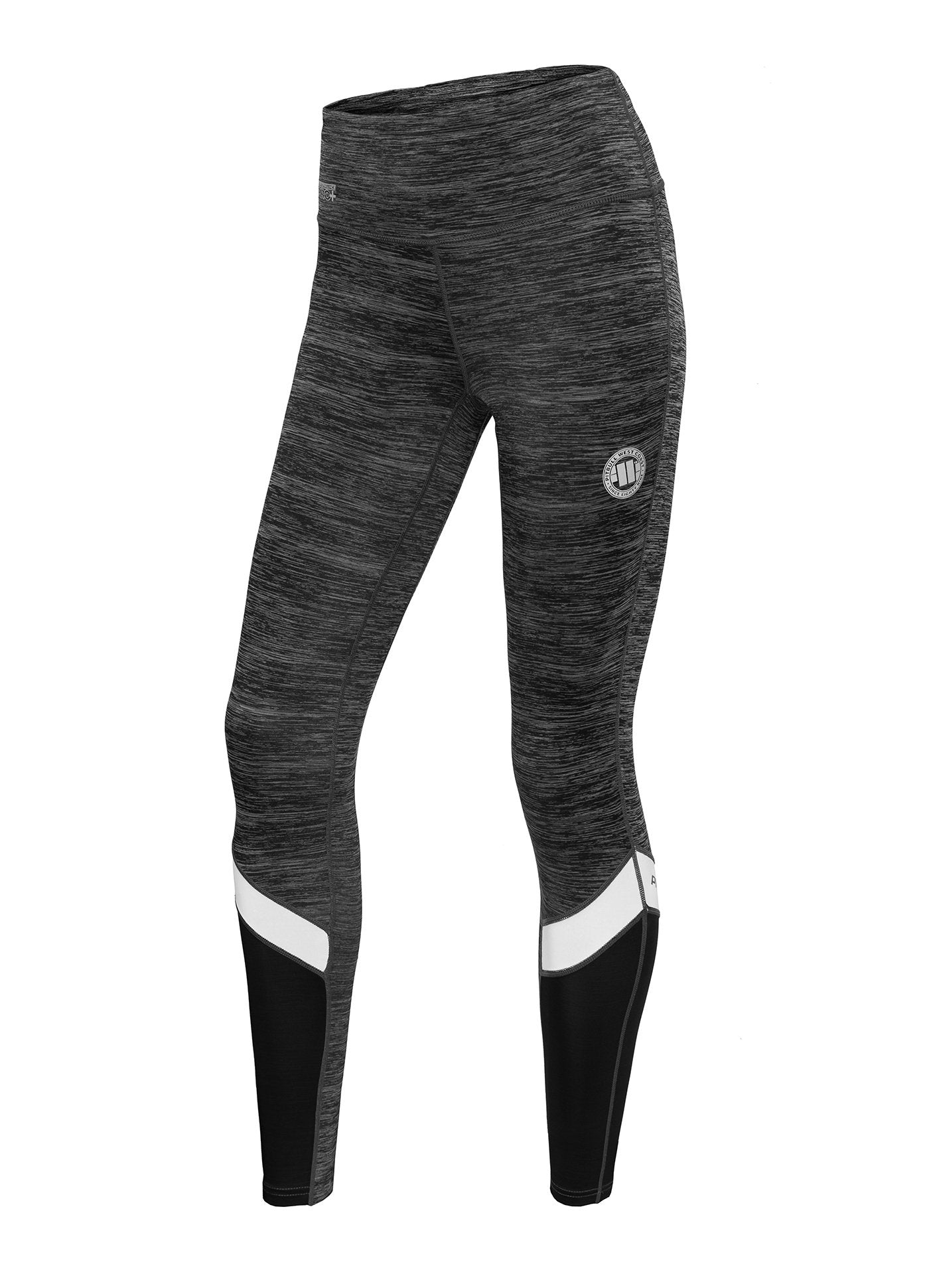 Women's Leggins Compression PRO PLUS MLG Charcoal Melange - Pitbull West Coast U.S.A.