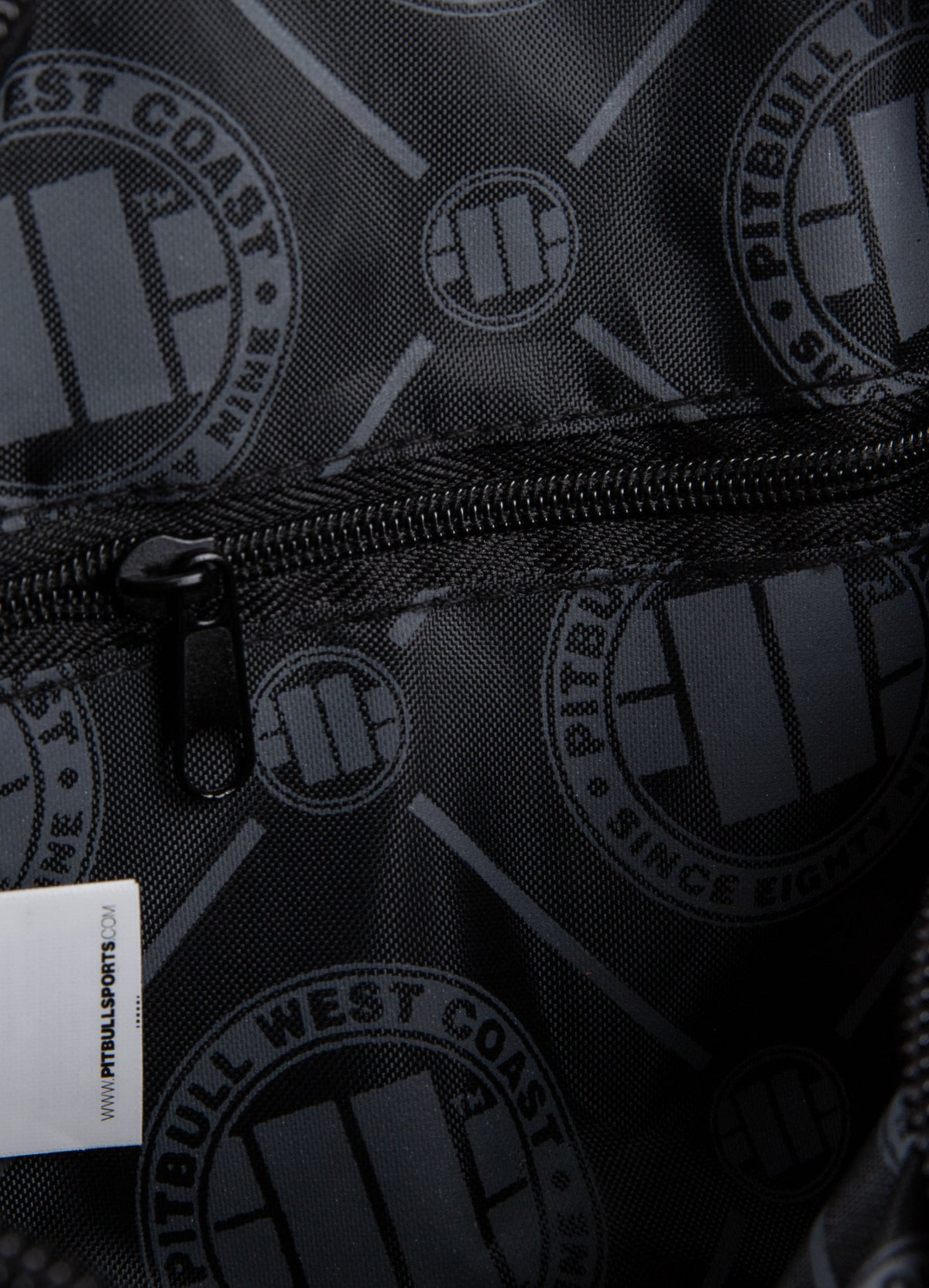 SHOULDER BAG SINCE 1989 GREY - Pitbull West Coast U.S.A.