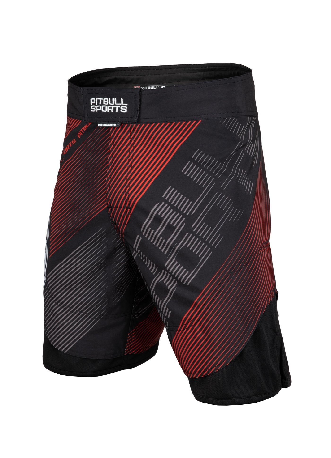 Grappling Shorts NEW CHARGER Black - Pitbull West Coast U.S.A.