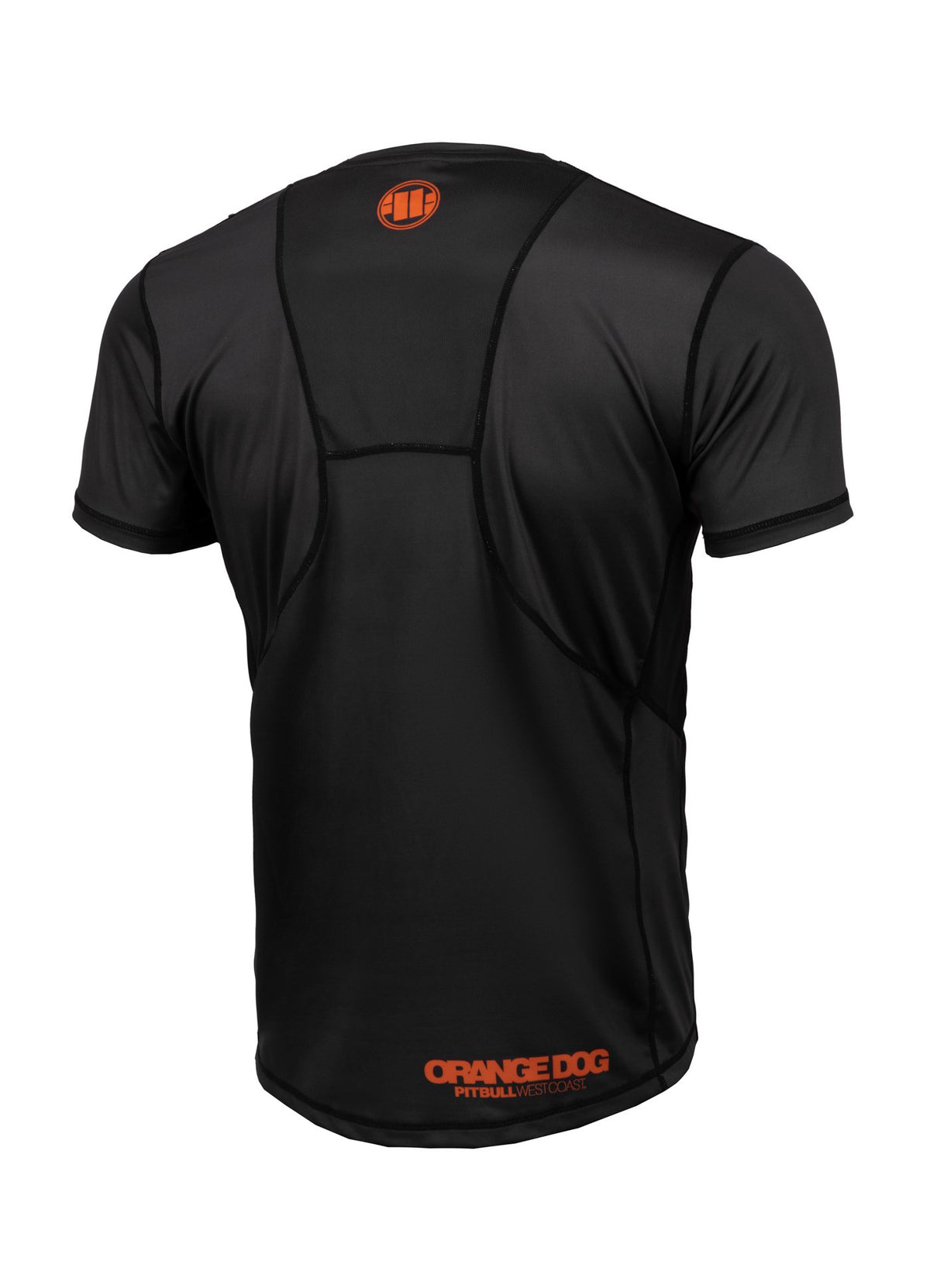 Rashguard Mesh ORANGE DOG Black