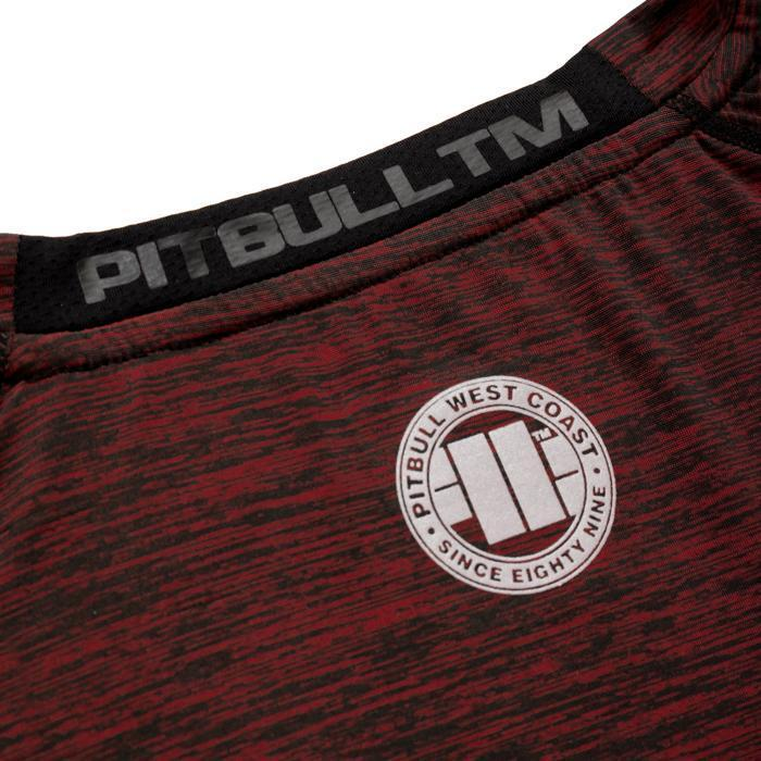 RASHGUARD PRO PLUS MLG Burgundy - Pitbull West Coast U.S.A.