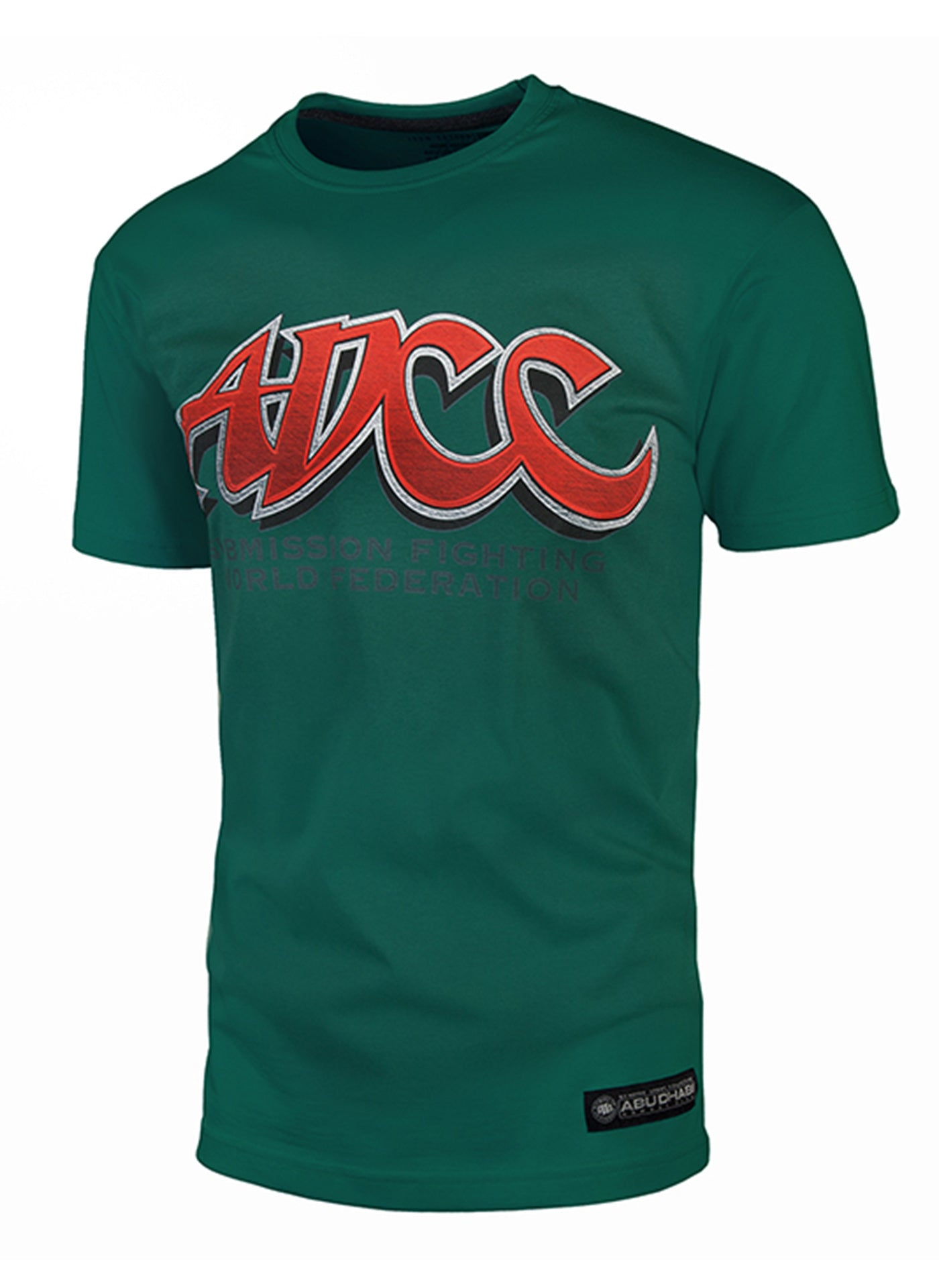 Official ADCC T-Shirt Green - Pitbull West Coast U.S.A.