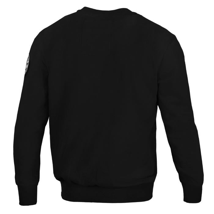 Crewneck CAL FLAG Black - Pitbull West Coast U.S.A.