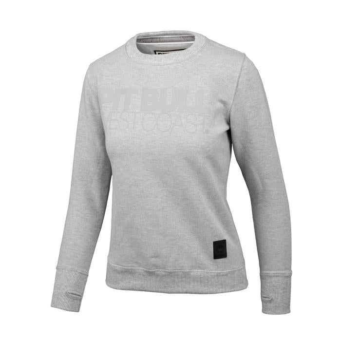 Women SEASCAPE Crewneck Grey - Pitbull West Coast U.S.A.