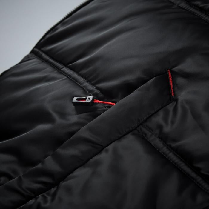 GATLIN Quilted Hooded Jacket Black - Pitbull West Coast U.S.A.