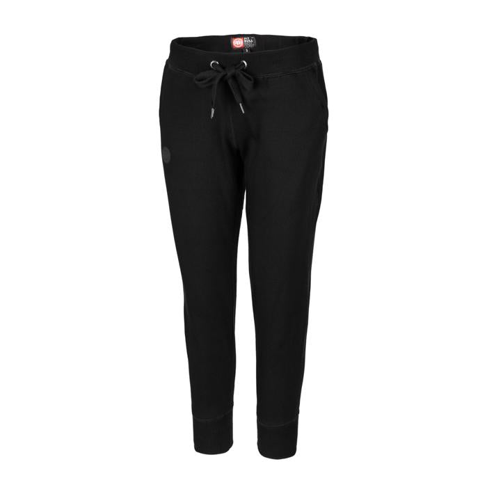 Women's Jogging Pants SMALL LOGO Black - Pitbull West Coast U.S.A.