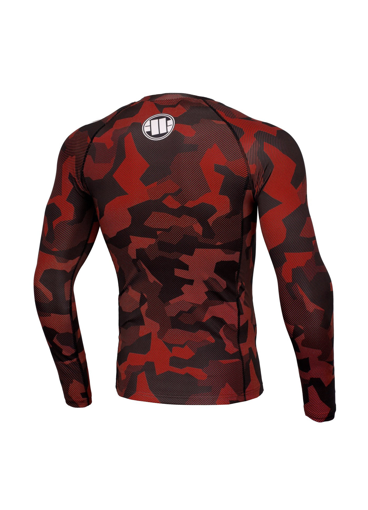 Rashguard longsleeve DILLARD Red - Pitbull West Coast U.S.A.