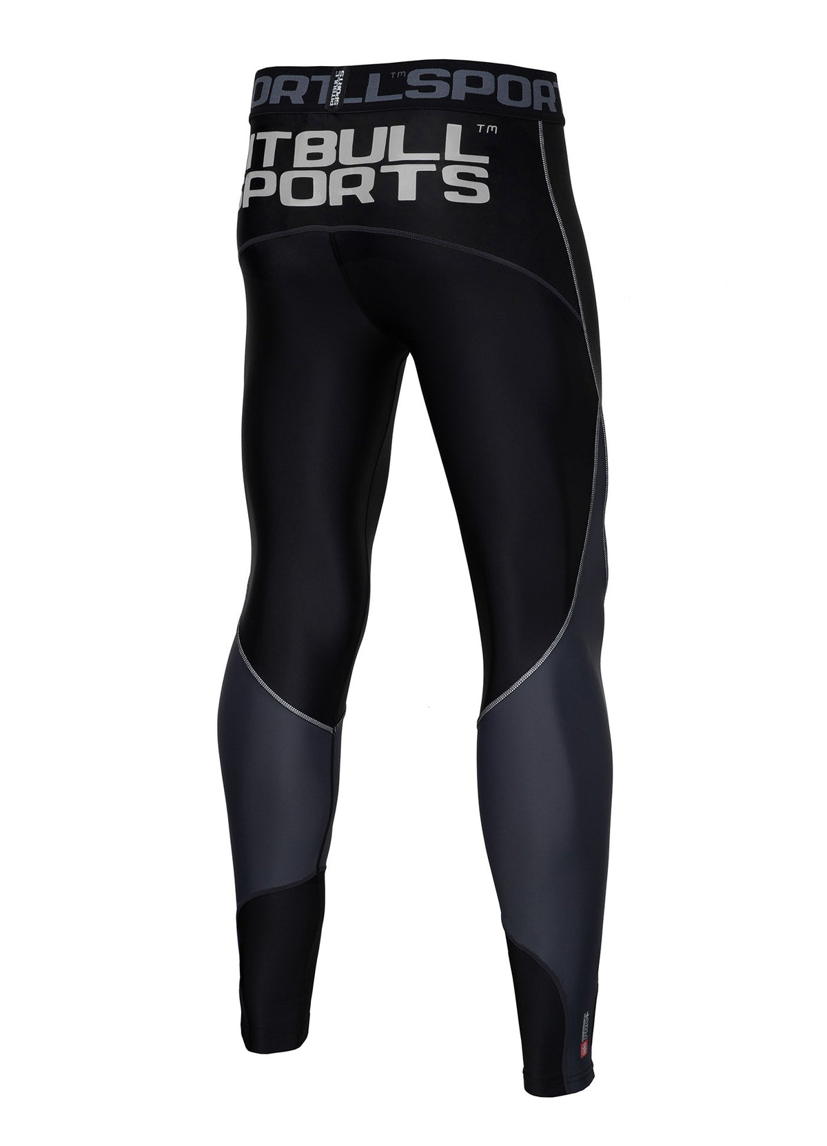 Compression PRO PLUS Pants Black - Pitbull West Coast U.S.A.