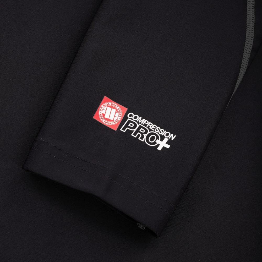 LONGSLEEVE RASHGUARD PRO PLUS SMALL LOGO - Pitbull West Coast U.S.A.