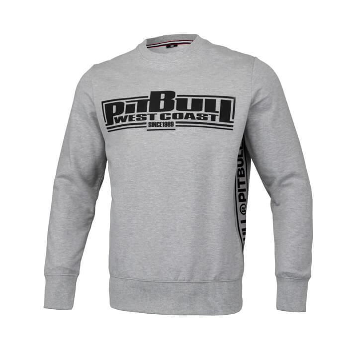 Boxing Crewneck FRENCH TERRY Grey - Pitbull West Coast U.S.A.