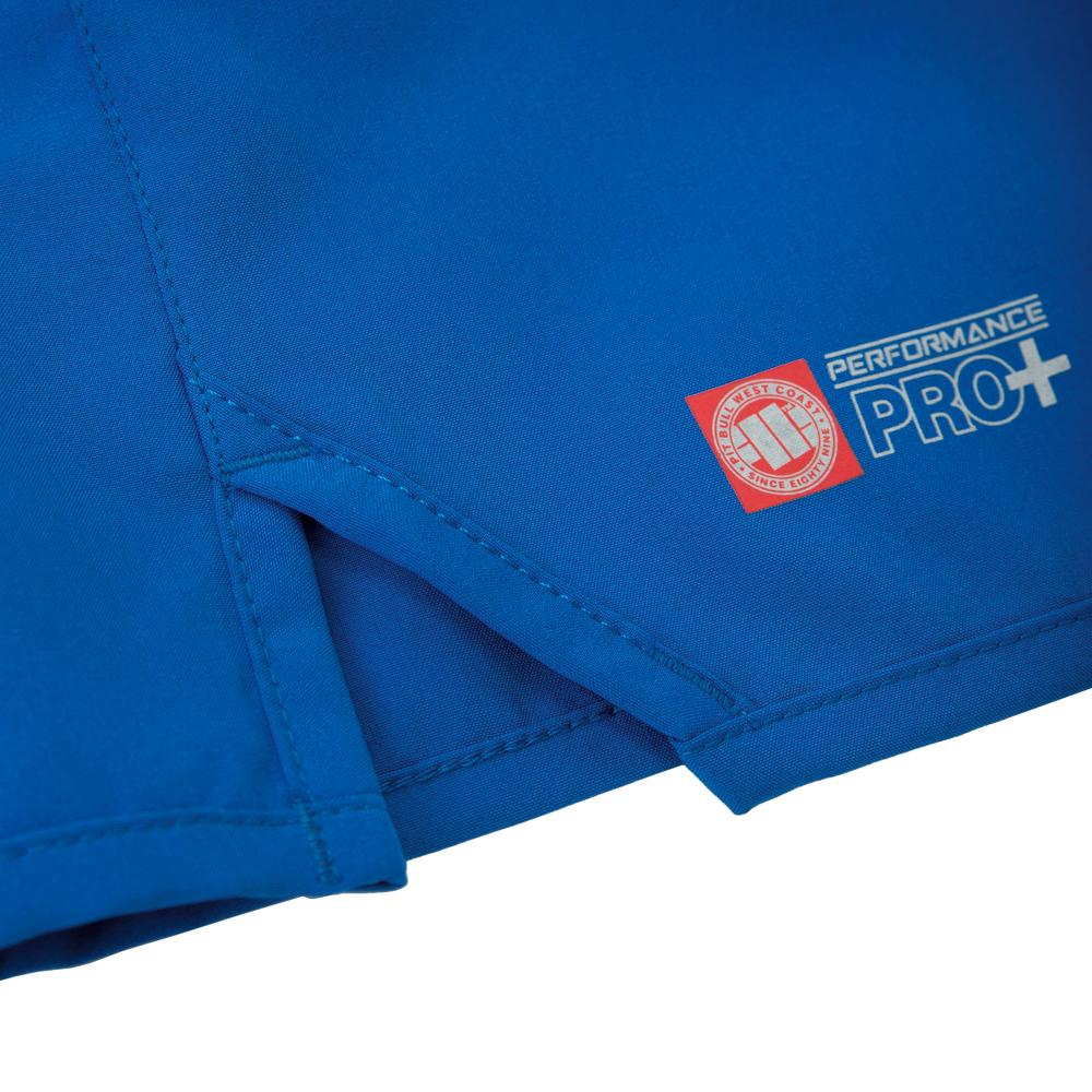 Mens Performance Shorts Blue - Pitbull West Coast U.S.A.