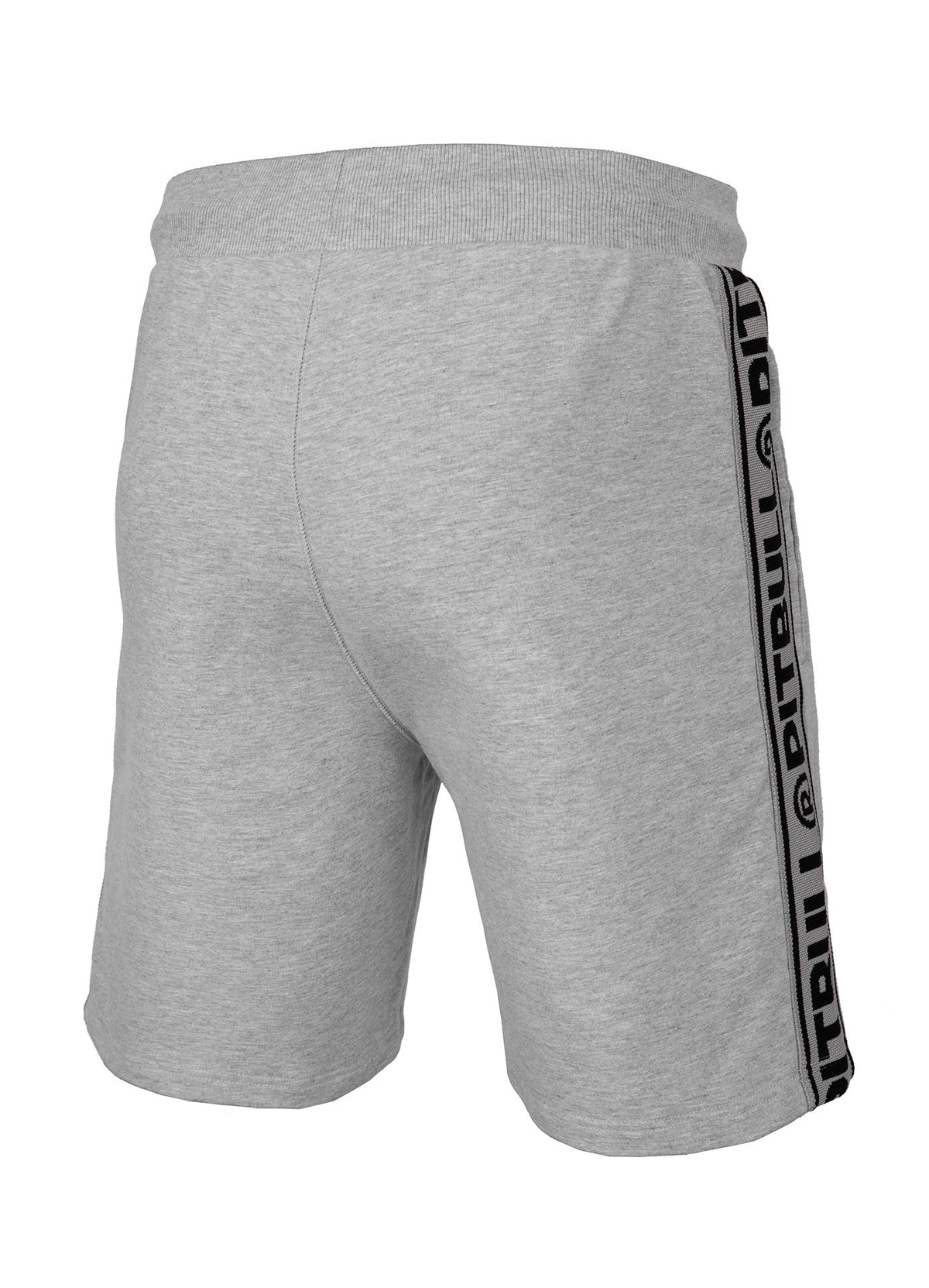 Shorts 'Small Logo' FRENCH TERRY Grey - Pitbull West Coast U.S.A.
