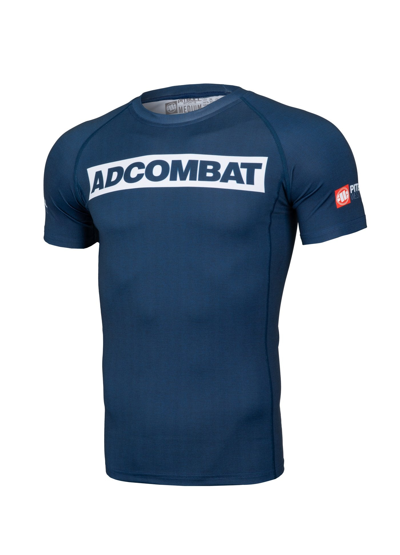 ADCC HILLTOP Short Sleeve Rashguard DARK NAVY - Pitbull West Coast U.S.A.