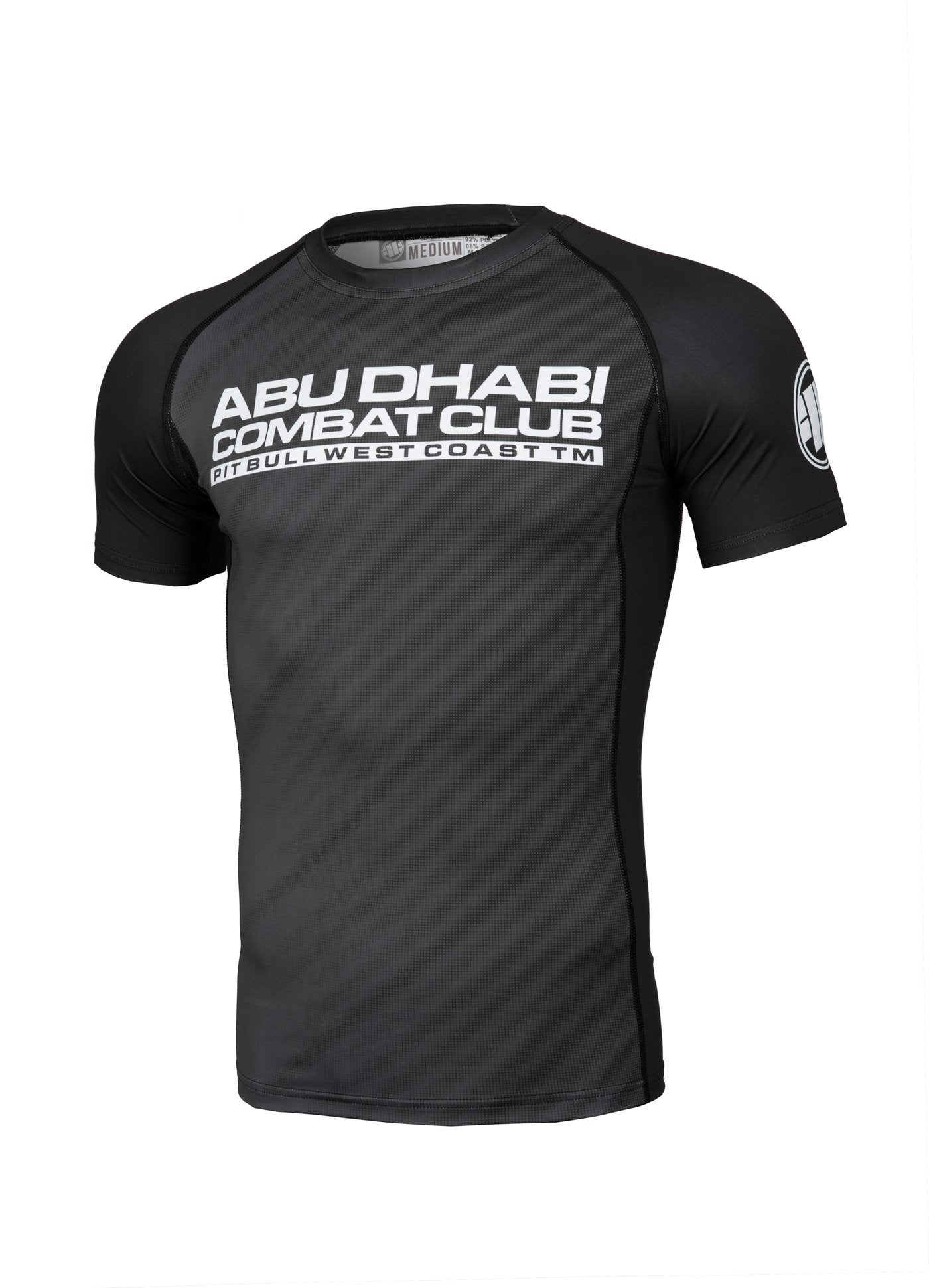 ADCC RASTER Short Sleeve Rashguard - Pitbull West Coast U.S.A.