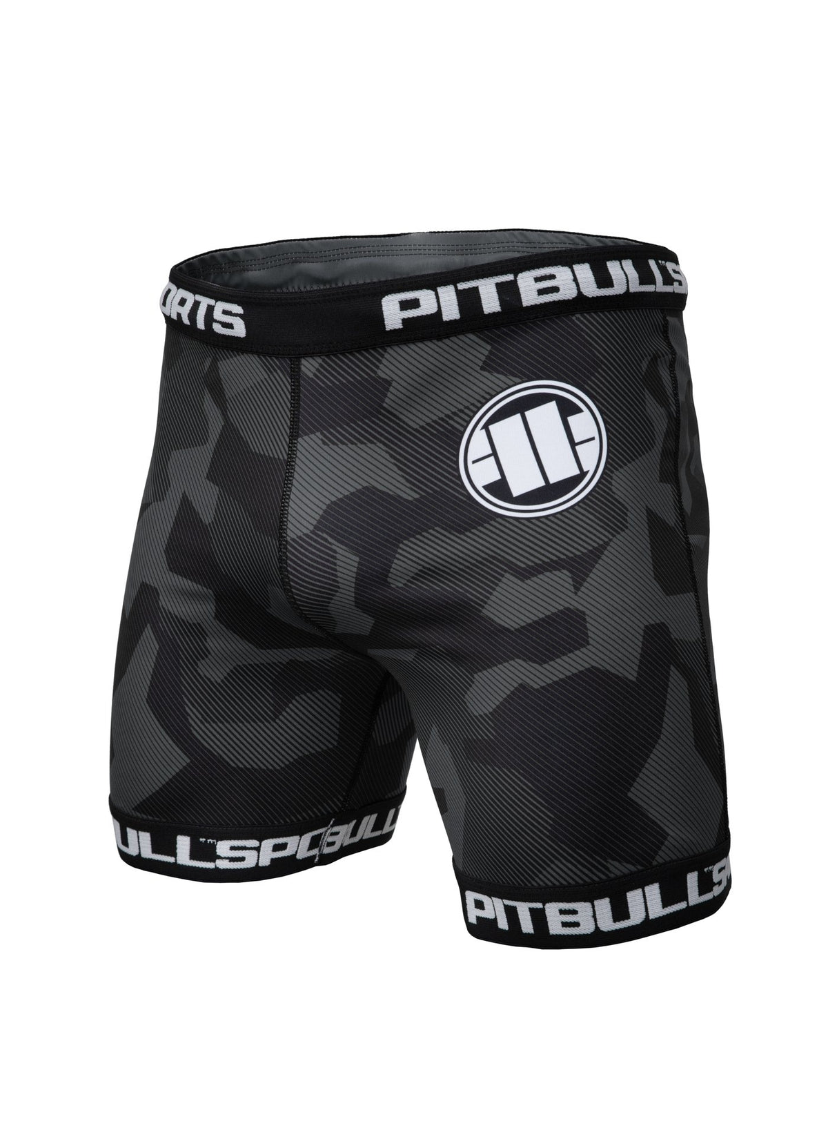 VALE TUDO SHORTS DILLARD Grey - Pitbull West Coast U.S.A.