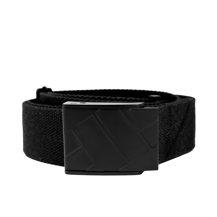 Webbing Belt CLASSIC LOGO Black - Pitbull West Coast U.S.A.