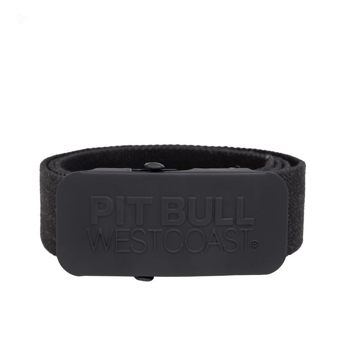 Webbing Belt TNT Black - Pitbull West Coast U.S.A.