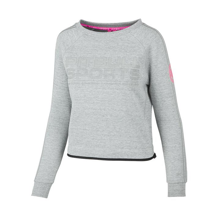Women ATHLETICA Crewneck Grey - Pitbull West Coast U.S.A.