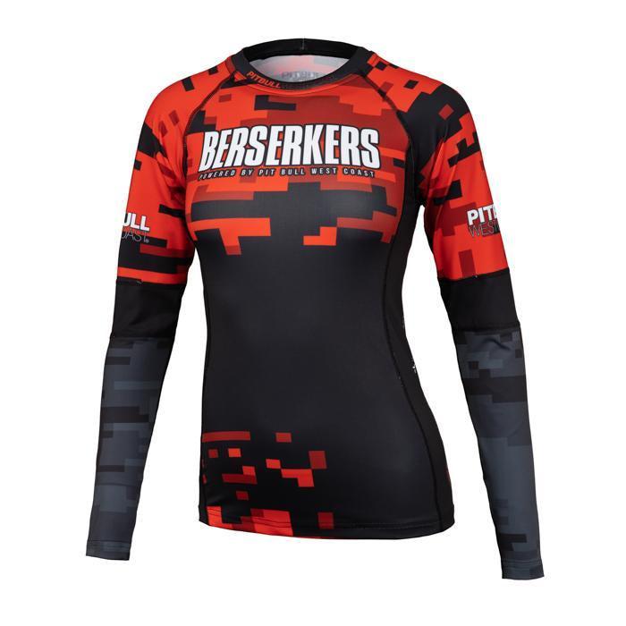WOMEN LONGSLEEVE RASHGUARD BERSERKERS DIGITAL - Pitbull West Coast U.S.A.