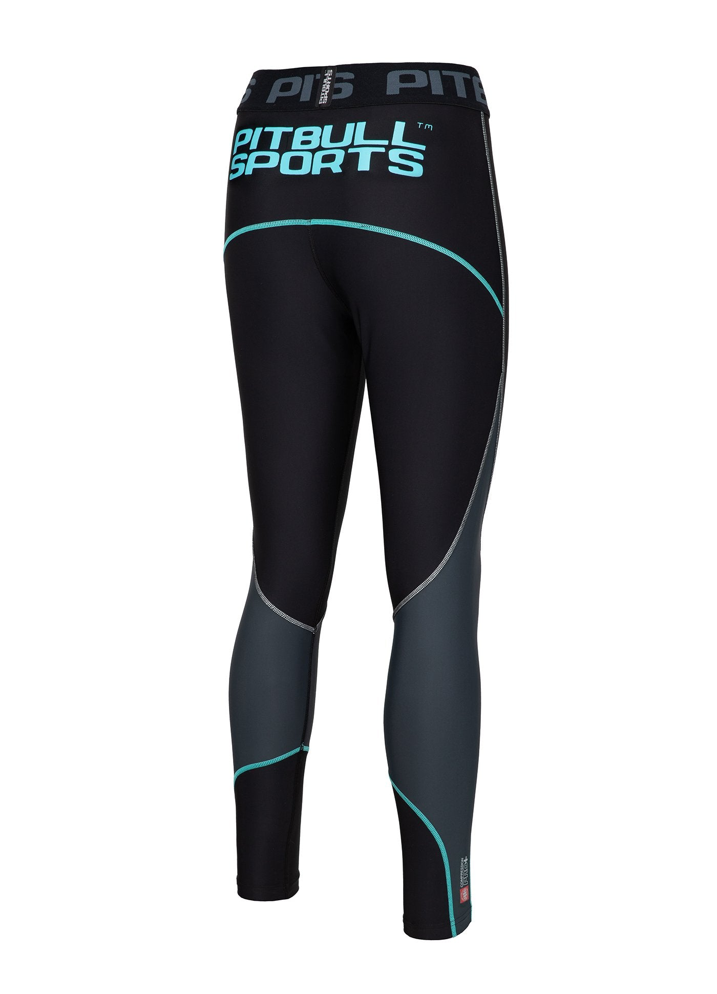 Women's Leggins Compression PRO PLUS Blue - Pitbull West Coast U.S.A.