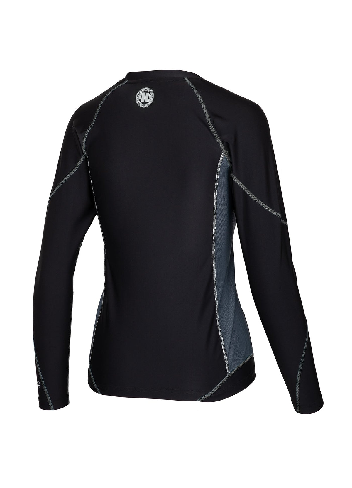 Women Longsleeve Rashguard Compression PRO PLUS Black - Pitbull West Coast U.S.A.