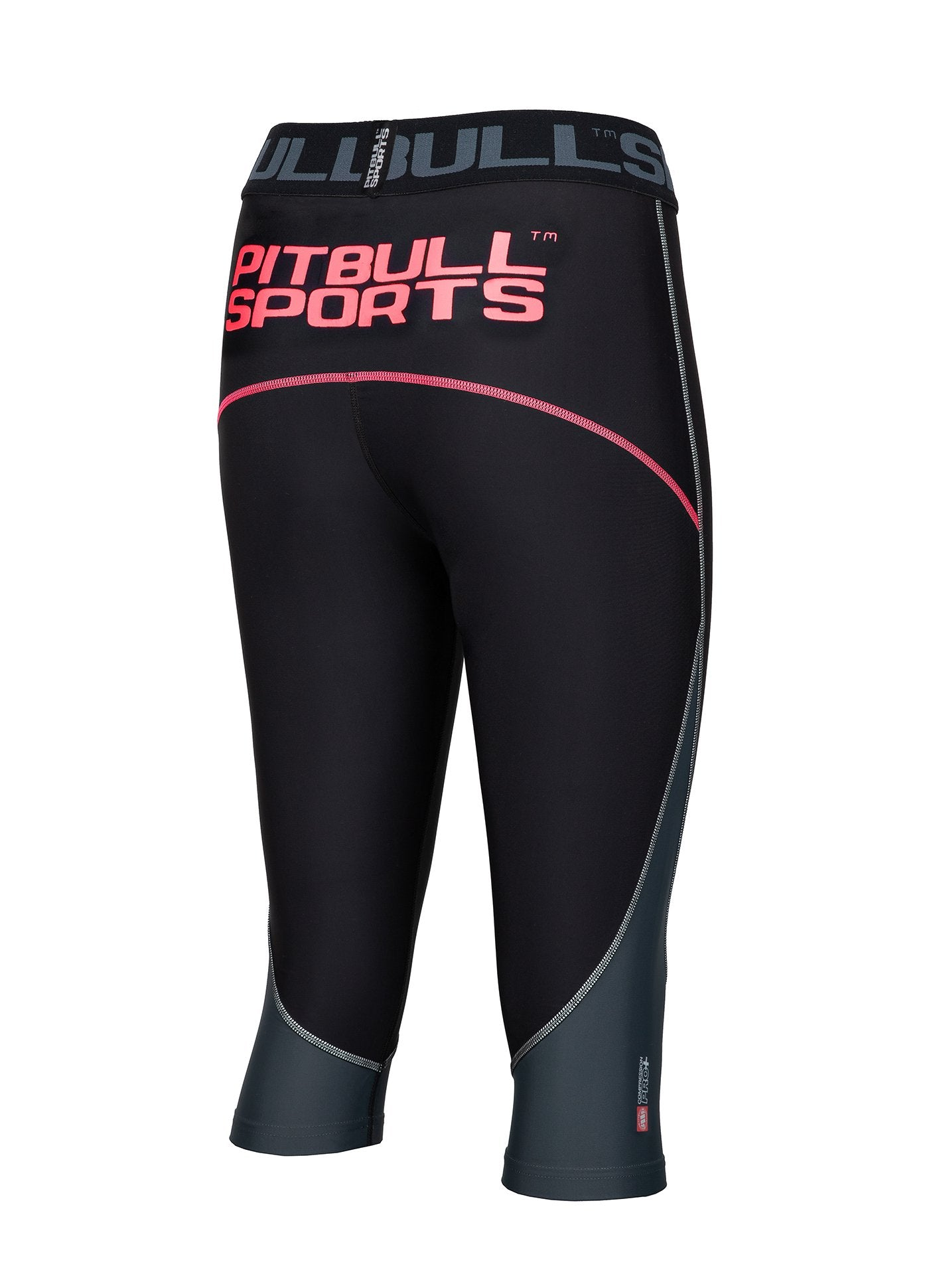 Women's Short Leggins Compression PRO PLUS Pink - Pitbull West Coast U.S.A.