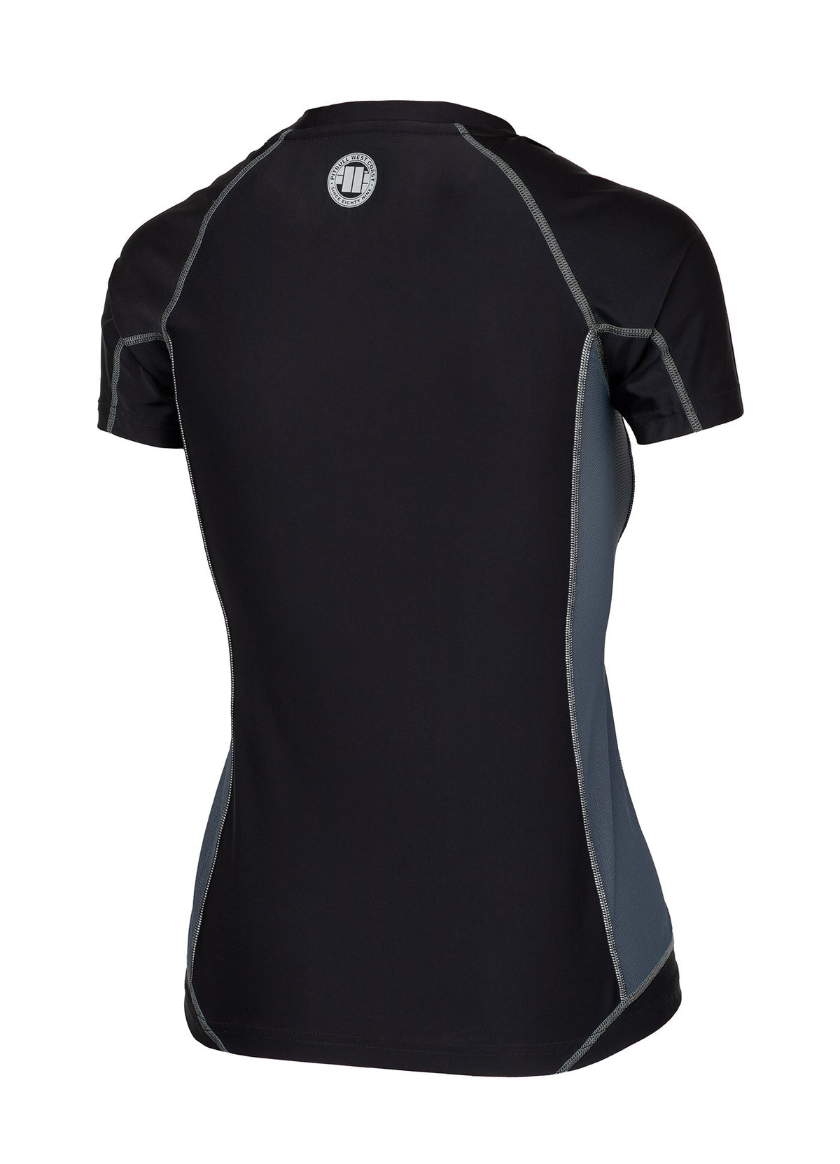 Women's Rashguard Compression PRO PLUS Black - Pitbull West Coast U.S.A.