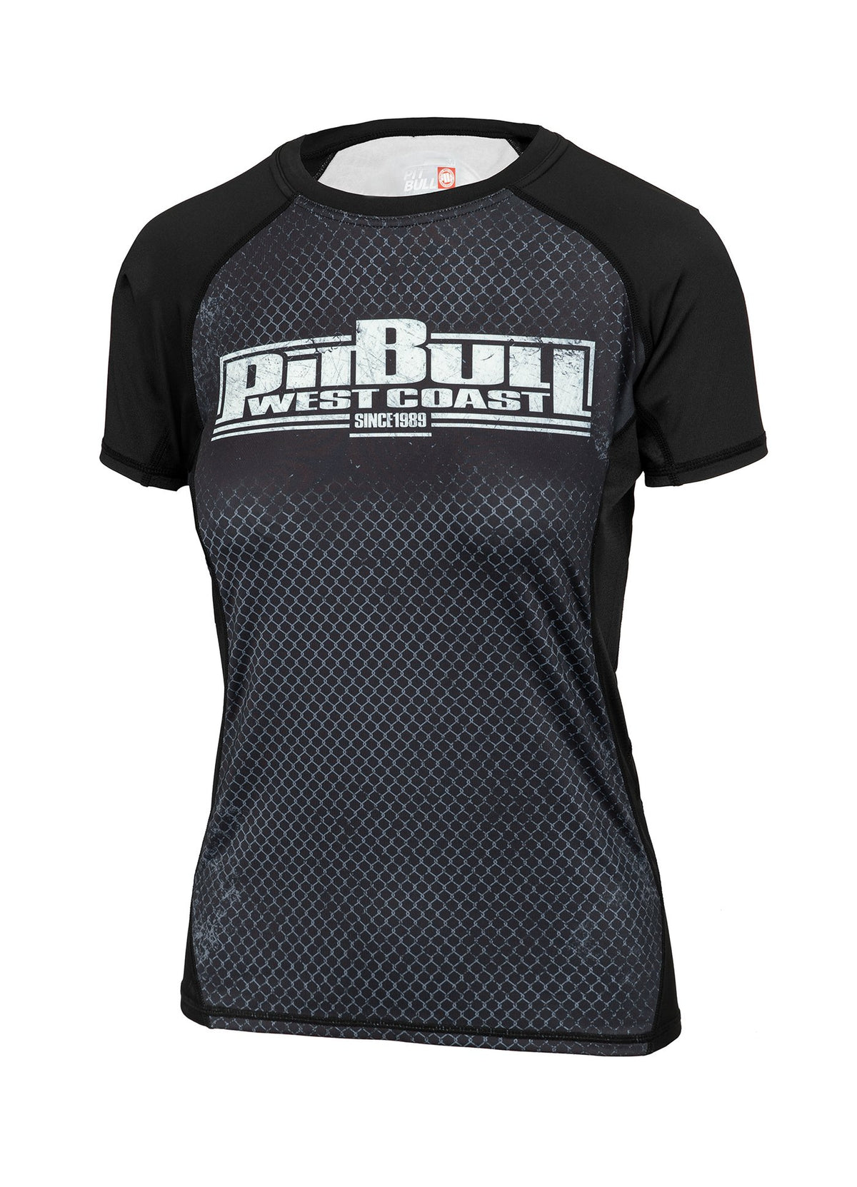 WOMEN RASHGUARD PERFORMANCE CAGE - Pitbull West Coast U.S.A.