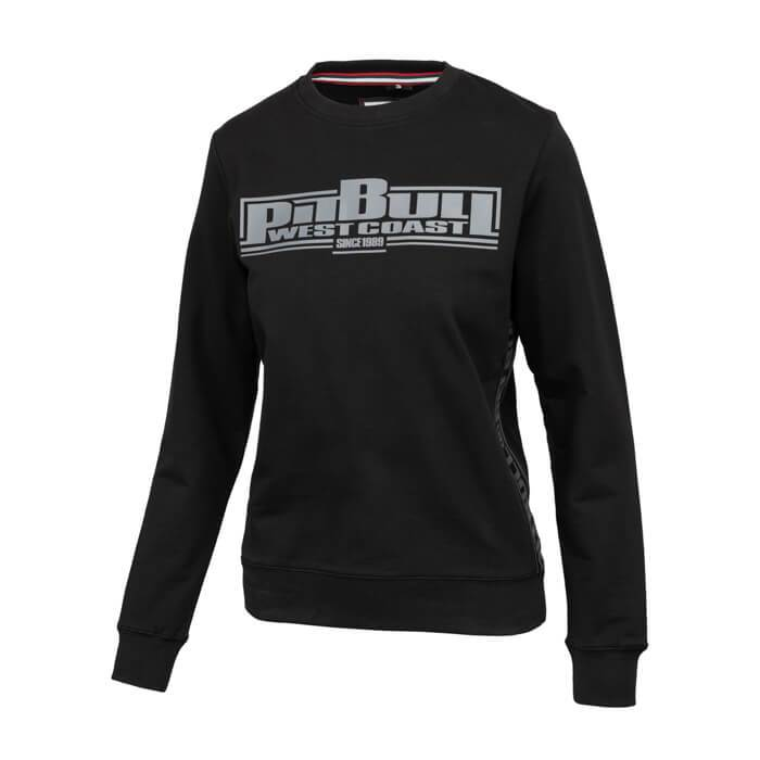 Women crewneck BOXING FRENCH TERRY Black - Pitbull West Coast U.S.A.