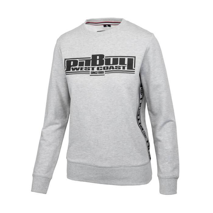 Women crewneck BOXING FRENCH TERRY Grey - Pitbull West Coast U.S.A.