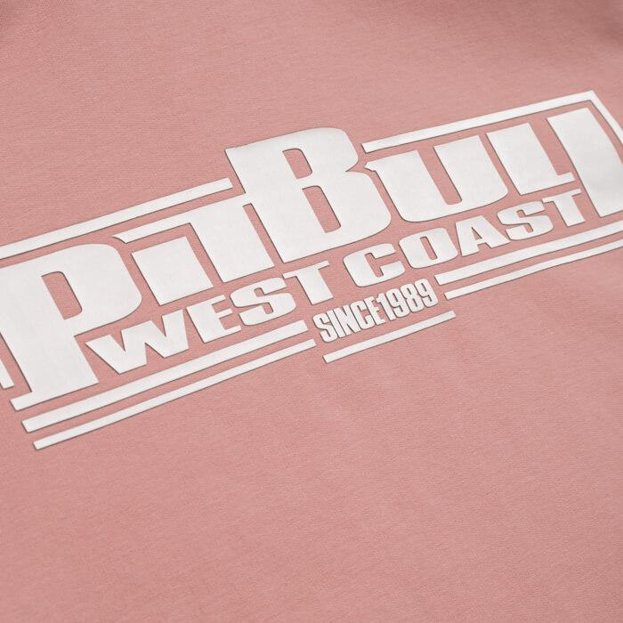 Women crewneck BOXING FRENCH TERRY Pink - Pitbull West Coast U.S.A.