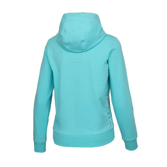 Women Hooded 'Small Logo' FRENCH TERRY Blue - Pitbull West Coast U.S.A.