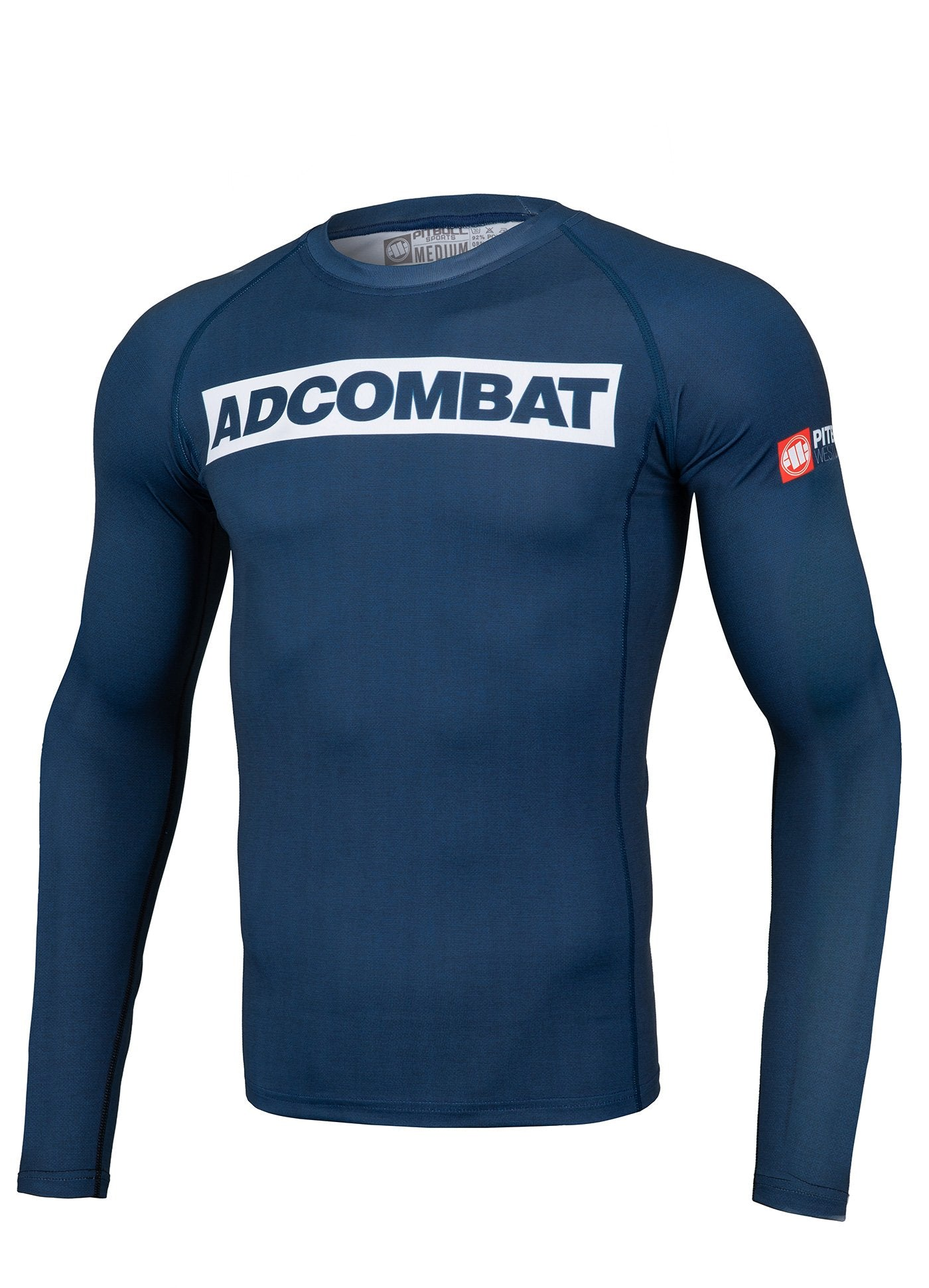 ADCC HILLTOP Dark Navy Long Sleeve Rashguard - Pitbull West Coast U.S.A.