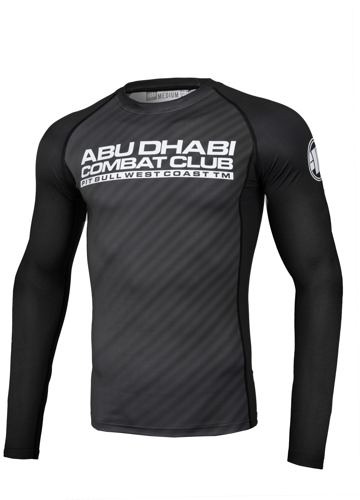 ADCC raster Long Sleeve Rashguard - Pitbull West Coast U.S.A.