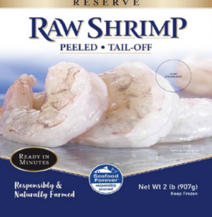 RAW SHRIMP 2LB