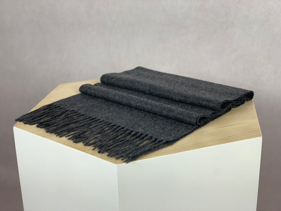 CASHMERE SCARF ANTHRACITE