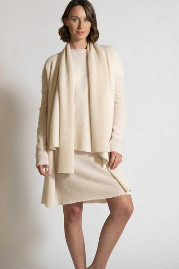 DRESS, SWEATER, CARDIGAN , SCARF IN LUXURY CASHMERE