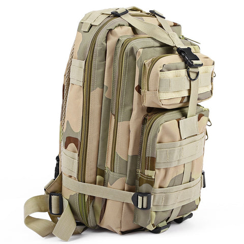 3P Tactical Backpack Military Backpack Oxford Sport Bag 30L for Camping Climbing Bags Traveling Hiking fishing Bags - TheOldJunkTrunk