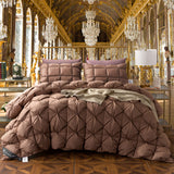 Svetanya Goose Down Duvet thick Warm Blanket luxury Quilt Comforter Bedding Filler French Bread Shape Stiching - TheOldJunkTrunk