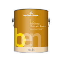 Load image into Gallery viewer, ben Premium Interior Latex Paint & Primer, Flat Finish W625