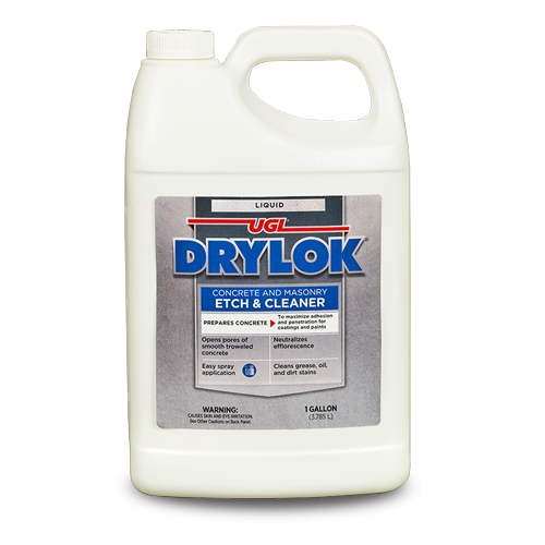 DRYLOK Concrete and Masonry Liquid Etch & Cleaner