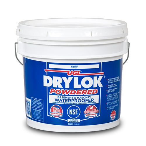 DRYLOK Powdered Basement & Masonry Waterproofer